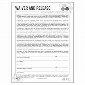 waiver and release form With fitness waiver and release form template