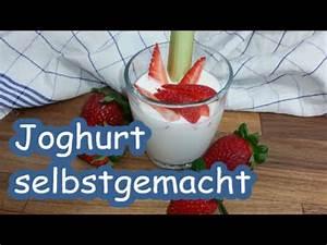 Joghurt Mit Früchten Selber Machen : joghurt selber machen mit oder ohne thermomix youtube ~ Watch28wear.com Haus und Dekorationen