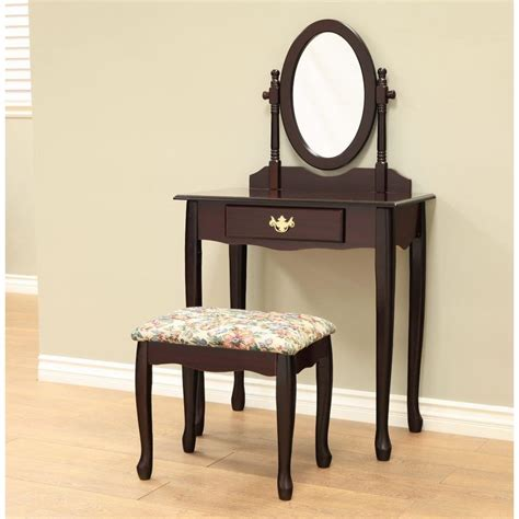 Bedroom Vanity Dresser Set by Bedroom Vanity Sets Furniture The Home Depot With Cheap