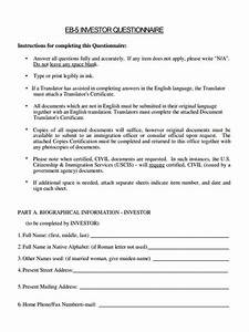 certificate translation sample certification letter blog With investor questionnaire template