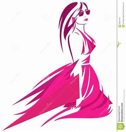Fashionista Woman Bright