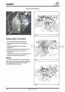 Claas Renault Atles 926 936 Repair Manual  Tractor