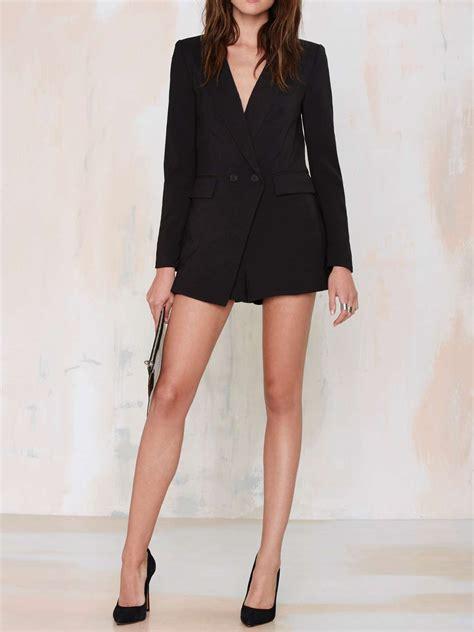jumpsuit with blazer black blazer jumpsuit