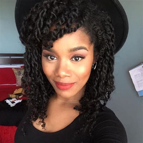 Twist Extensions Hairstyles by Hair Stylist Jeanneep Rocking Mini Twist With Our