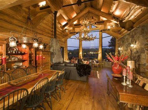 luxurious log cabins   market cbs news