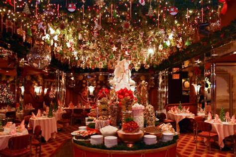 5 spots with the most over the top holiday d 233 cor in nyc