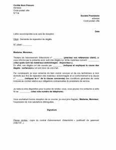 Demande De Raccordement Edf : exemple gratuit de lettre demande r paration d g ts caus s ~ Premium-room.com Idées de Décoration