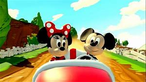 Disney Minnie  U0026 Mickey Mouse Car Race Game