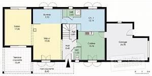 maison du sud detail du plan de maison du sud faire With faire un plan de maison 10 modale maison contemporaine atria