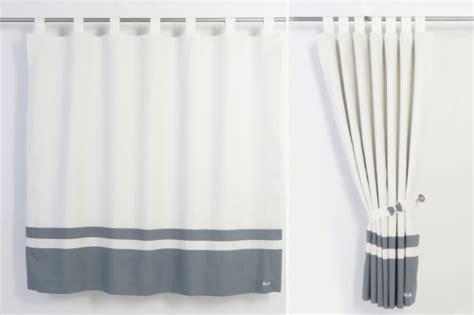linen white grey blackout curtains