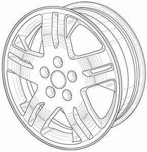 Rims drawing at getdrawingscom free for personal use for Nissan an 22 rims