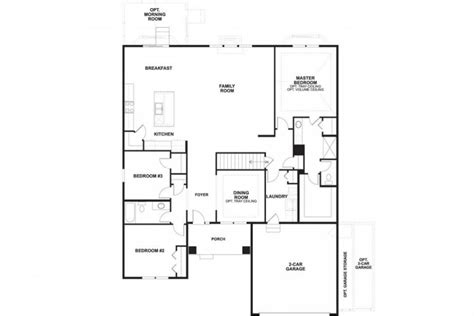 blueprints for new homes the cheswicke floorplan m i homes of chicago inside mi homes floor plans new home plans design