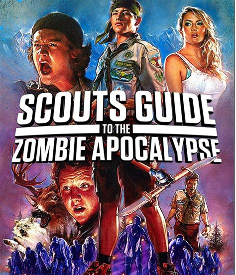 zombie apocalypse scouts guide movies films movie dvd survival blu ray