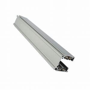 Rail De Spot : rail 3 phases alu gris pour spot led 3m led et fluo ~ Dallasstarsshop.com Idées de Décoration
