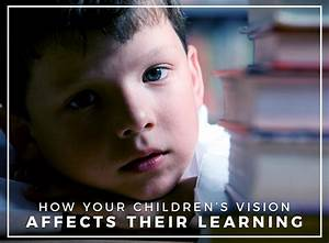 How Your Children's Vision Affects Their Learning