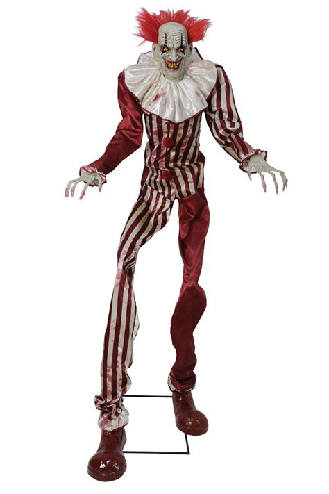 Animated Undead Evil Clown with Light & Sound by Seasons