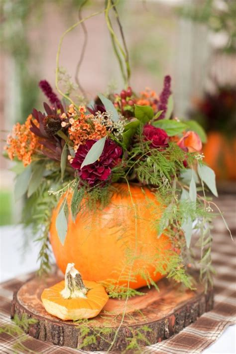 autumn wedding with pumpkins autumn wedding ideas