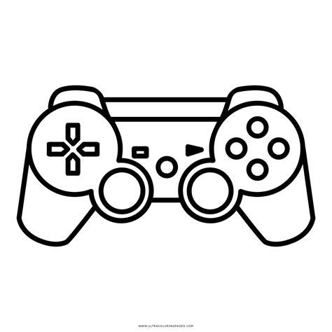 disegni da colorare videogiochi controlador de videogame desenho para colorir ultra