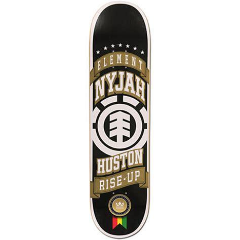 nyjah huston tech deck element nyjah x league series 8 0 quot skateboard deck