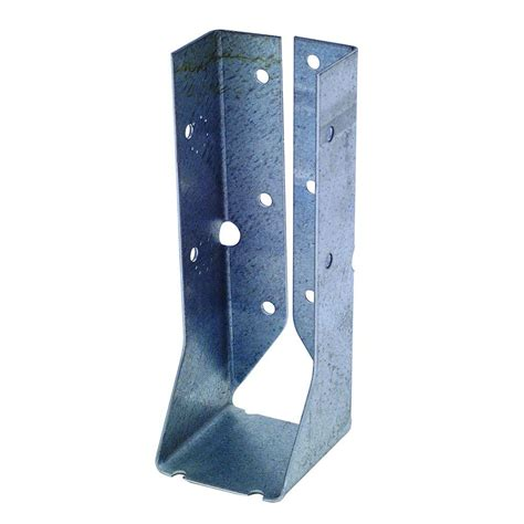 2 X 6 Decorative Joist Hangers by Strong Tie Z Max 2 In X 6 In 18 Galvanized