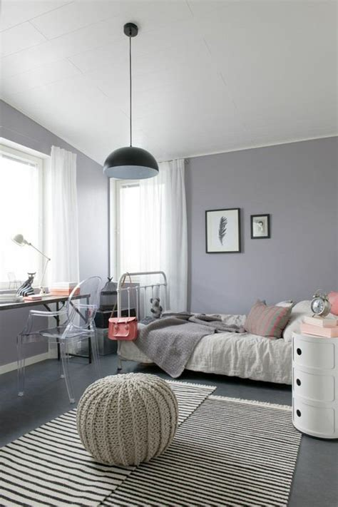 stylish teen s bedroom ideas homelovr 23 stylish teen girl s bedroom ideas homelovr 23 | Warm Girl Room with Grey and Delicate Pink