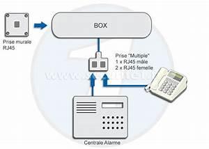 Adaptateur Téléphonique Bbox : alarme et d groupage ~ Nature-et-papiers.com Idées de Décoration