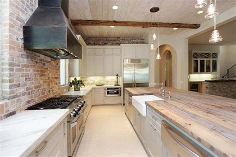 Reclaimed Wood Countertop-transitional-kitchen-har