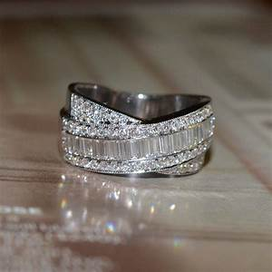 reserved round and baguette cut diamond wedding band 18k With diamond wedding band ring