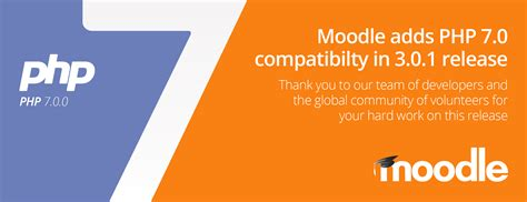 Moodle Adds Php 7.0 Compatibility In 3.0.1 Release