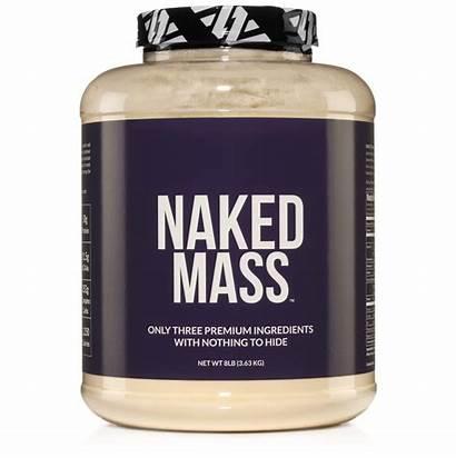 Gainer Weight Protein Mass Supplement Naked Powder