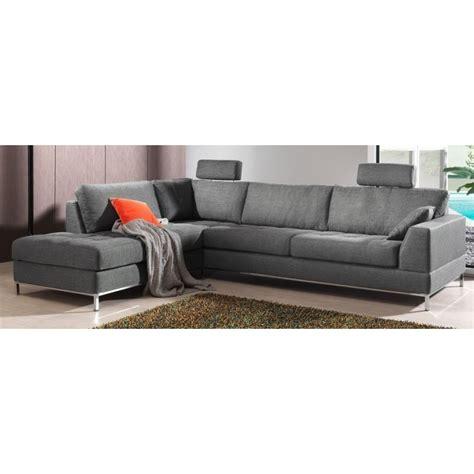 canapé d angle tissus canapé d 39 angle moelleux et confortable en tissu de grande