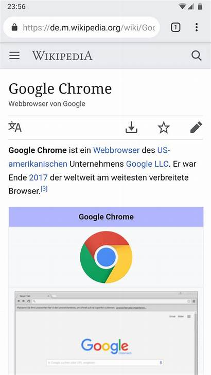 Chrome Google Android Screenshot Commons Browser Wikimedia