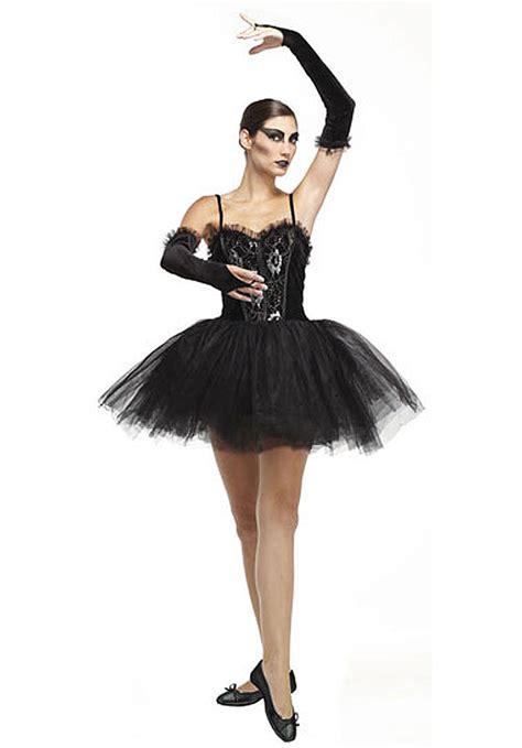 Gothic Ballerina Costume Black Swan Fancy Dress   Escapadeu00ae UK
