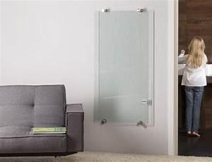Radiateur Electrique Verre : radiateur lectrique en verre personnaliser thermovit elegance by glassolutions ~ Nature-et-papiers.com Idées de Décoration