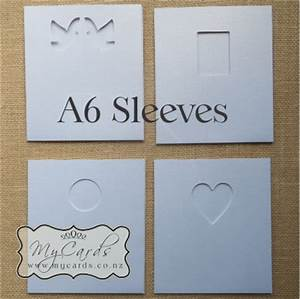 wedding invitation sleeve a6 plain or diecut With plain pocket wedding invitations