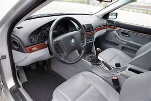 Sell Used 2003 Bmw 525i Silver  Gray  5 Speed Manual