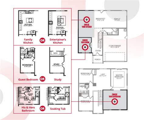 Beazer Homes Floor Plans 2007 the power to choose your home s layout with choice plans