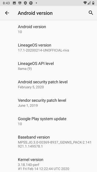 Poco F1 Android 10 via LineageOS 17.1, Pixel 2 XL & Redmi