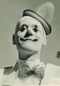 White Face Clown
