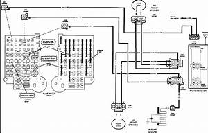 Diagram  1989 Chevrolet G20 Fuse Box Diagram Full Version