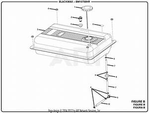 Homelite Bm10700hr 7000 Watt Generator Parts Diagram For Figure B
