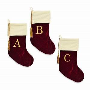 buy harvey lewistm letter quotxquot monogram christmas stocking With letter x stocking
