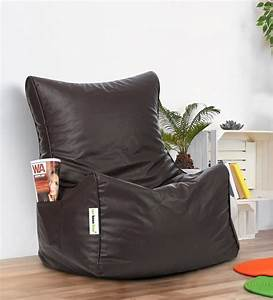 Buy, Classic, Xxl, Bean, Bag, Chair, With, Beans, In, Brown, Colour, By, Can, Online