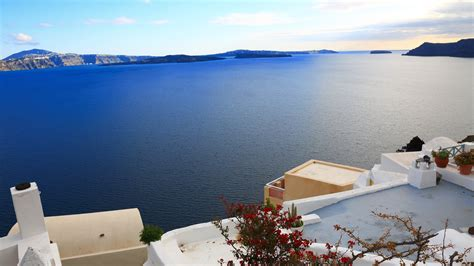 santorini  ultra hd wallpaper background image