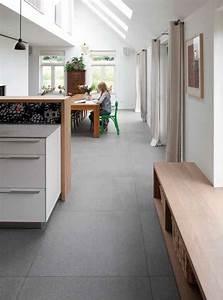 Farbe Für Bodenfliesen : xxl fliesen von mosa in der k che und im wohnbereich ~ Michelbontemps.com Haus und Dekorationen