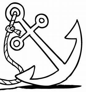Anchor Clipart Black And White Clipart Panda Free