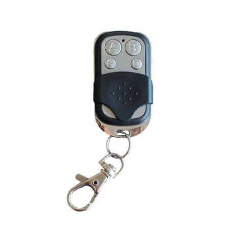 telecommande universelle porte de garage 1x telecommande universelle 433 mhz porte de garage portail alarme 4 boutons bfsat