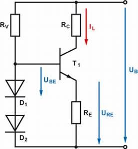 Led Wiederstand Berechnen : transistor als konstantstromquelle ~ Themetempest.com Abrechnung