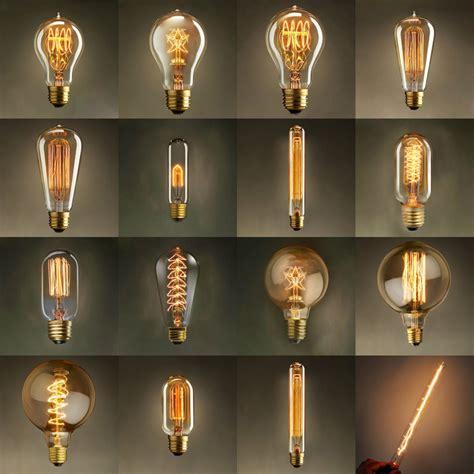 vintage edison bulb light l ac 110v 220v e27 vintage