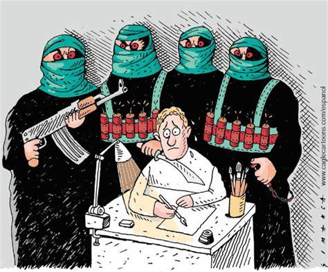 Islamist Suicide Bombers Cartoons